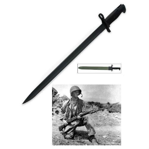 M1 Garand 1943 U S  Military Bayonet - 21 75 Overall