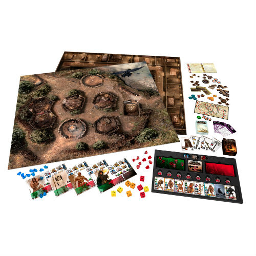Conan The Barbarian Board Game w/ 74 Plastic Miniatures - Click Image to Close