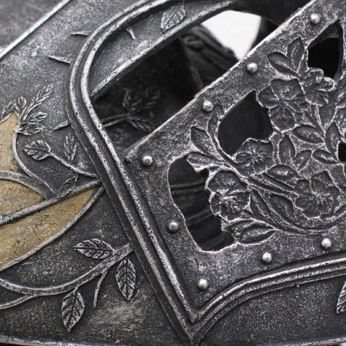 Game of Thrones - Loras Tyrell Helm Helmet - Click Image to Close