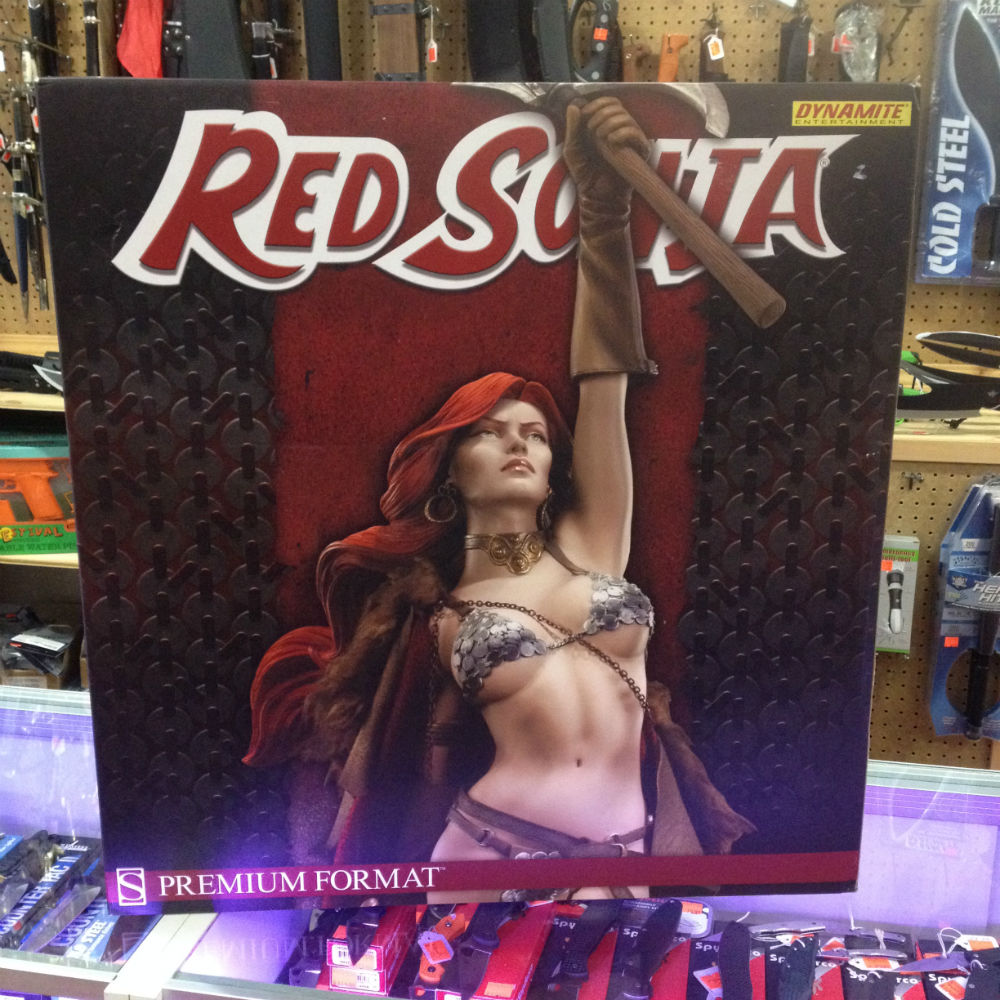 Red Sonja VICTORIOUS Premium Format Figure Statue 230/3000 - Click Image to Close
